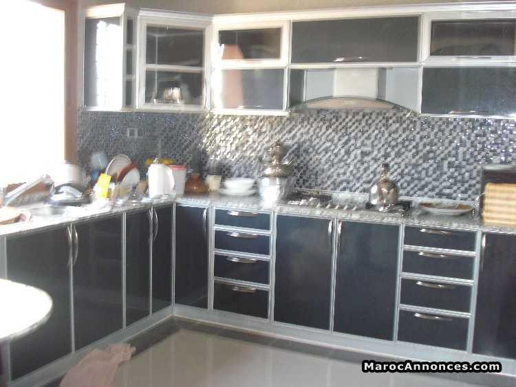 Cuisine Aluminium Maroc: Les placards en aluminium ides. Cuisine en ...