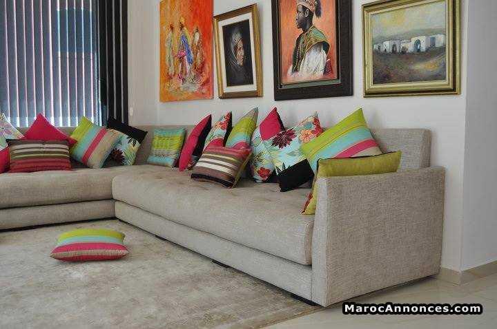 Awesome Salon Moderne Maroc Contemporary - Amazing House Design ...