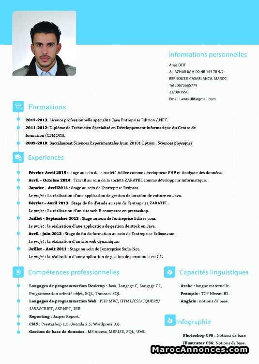 Développeur Informatique Demandes D Emploi 06h13 18 07