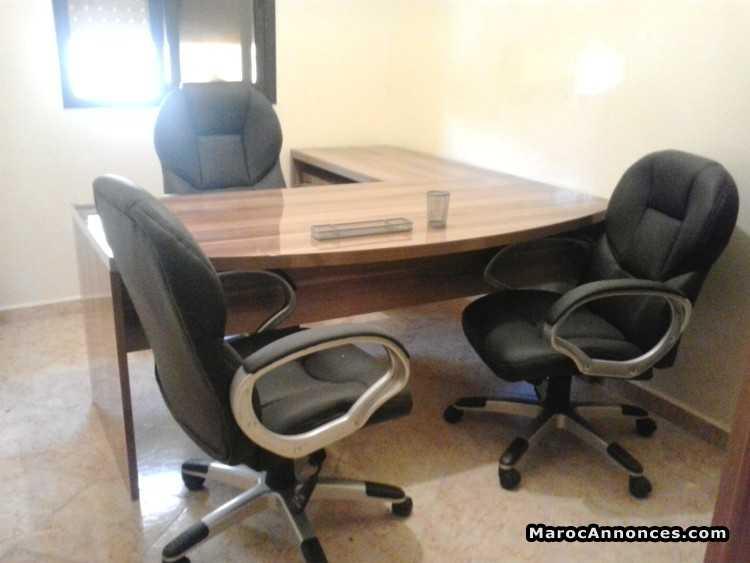 Meuble de bureau a vendre grand bureau blanc abi
