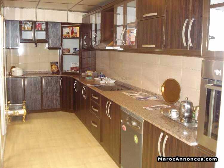 cuisine au pls couleurs modernes en aluminium - Photo Cuisine En Aluminium Au Maroc