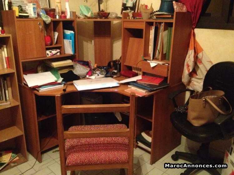 Bureau kitea chaise meubles h