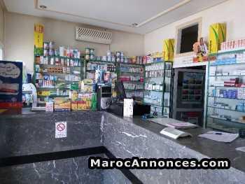 vende pharmacie région taza