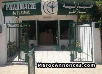 Pharmacie à vendre au centre ville de safi
