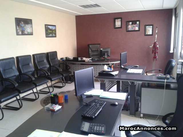 Bureau open space sur bd mohamed bureaux plateaux h