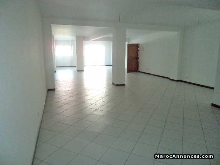 Plateau bureau open space m² à louer sur mers sulta bureaux
