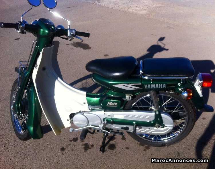 moto yamaha 3 vitesse maroc
