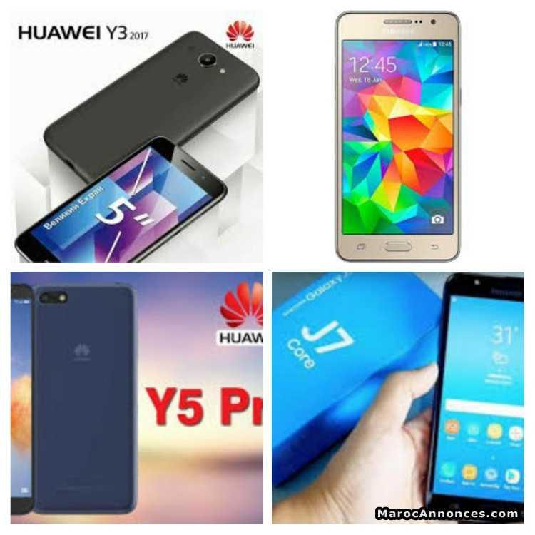 Samsung J7 Grand Prime Pro Huawei Y5 20 Y3
