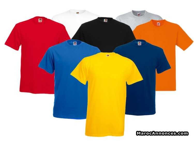 nouvelle arrivee 42611 e0fb6 t shirt vierge