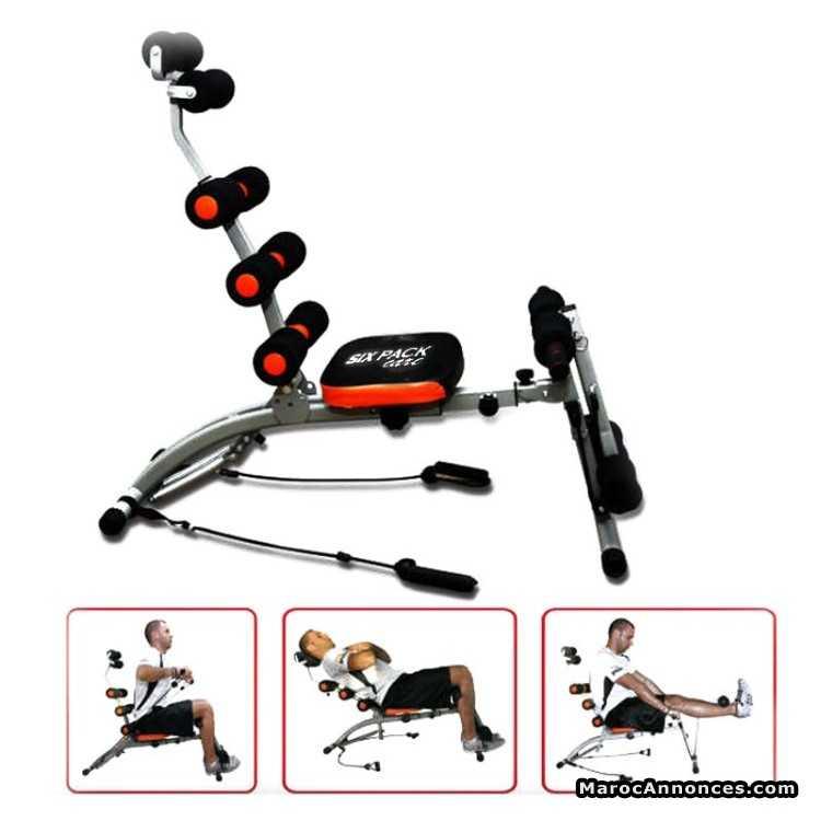 Banc De Musculation Six Pack Care Articles De Sport 06h02 03 07