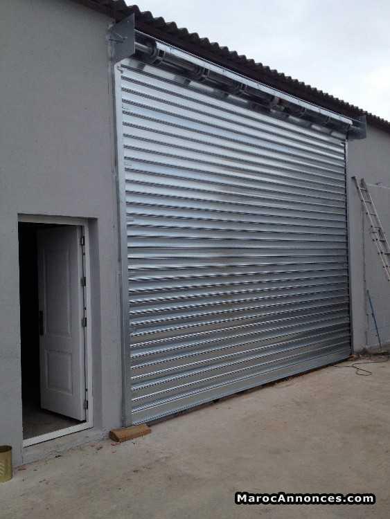 fabrication et pose rideaux métallique sur mesure : Services Divers ...