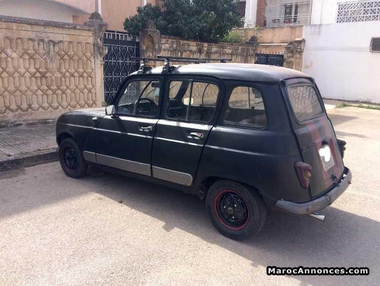 renault r4 voitures occasion à rabat   marocannonces