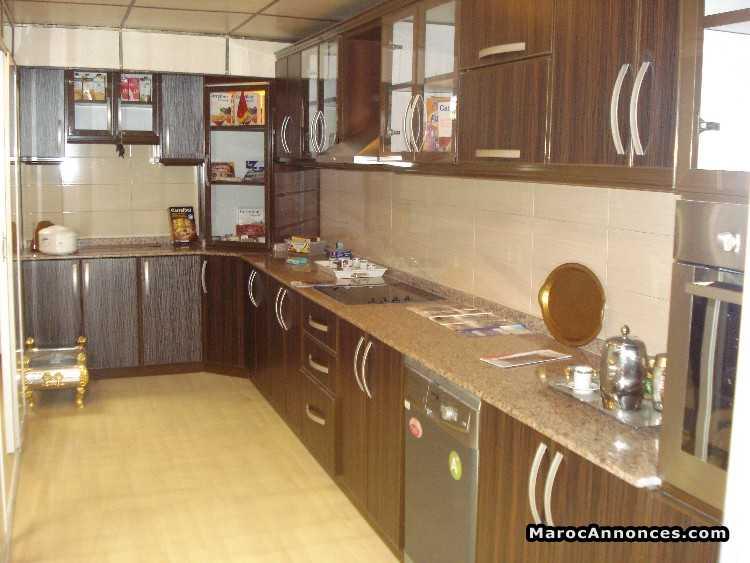 cuisine plusieur couleur en aluminium moderne : Meubles [16h21 - 07 ...