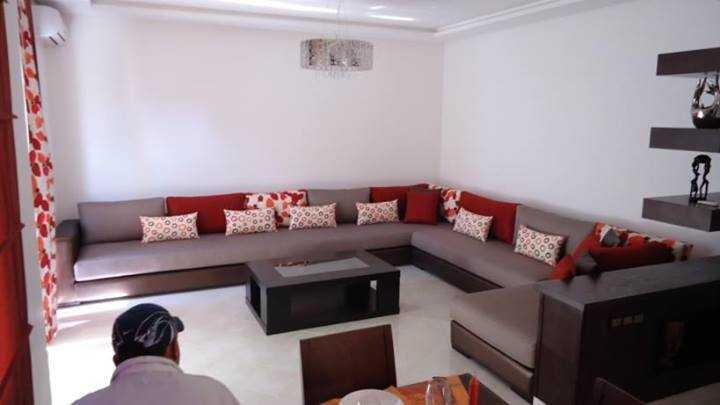 Salon Moderne Marocain